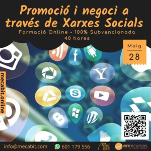Promoció i negoci a través de Xarxes Socials Mecabit